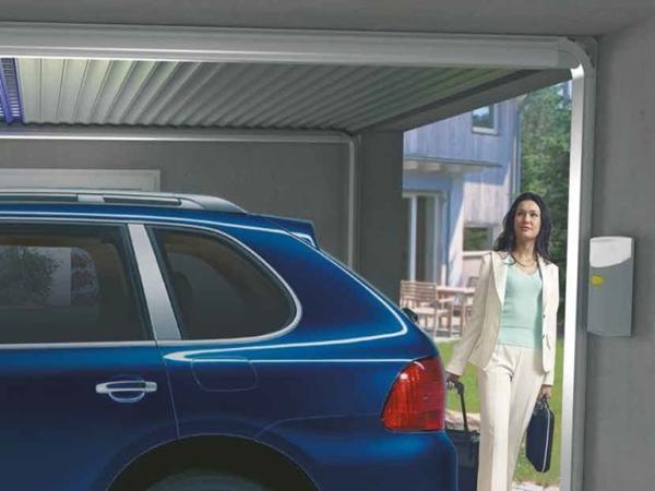 Gecco: la serranda per garage che scorre a soffitto a minimo ingombro.