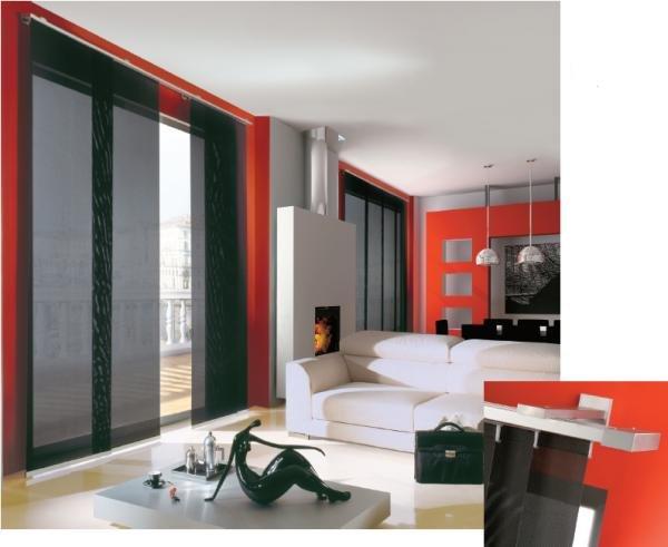 ORIENTE - sistema per tende a pannelli tesi / ORIENTE - panel curtain system