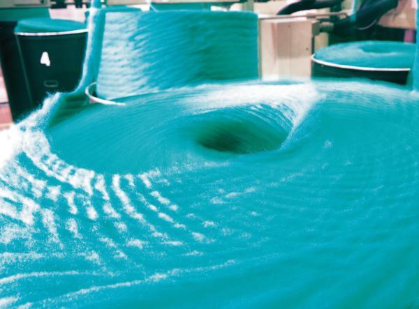 Fibra in filatoio / Fiber spinning
