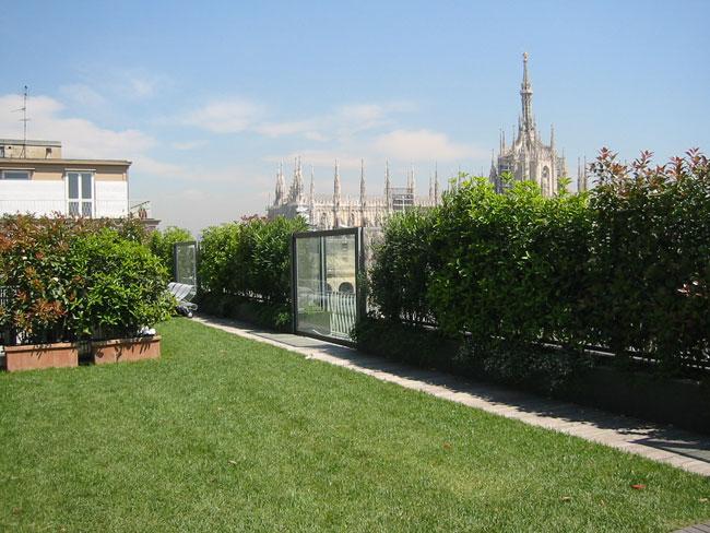 Perliroof intensivo leggero - Terrazza di centro fitness - Milano