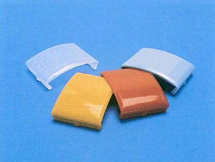 Fermanastro 35 e 50 mm in PVC neutra o colorata / Head and bottom rail for 50 mm.