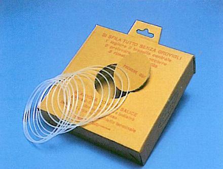 Guide in perlon e dispencer in perlon da diametro 2/2,5/3mm / Nylon guide and dispencer diameter mm  2/2,5/3mm