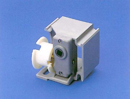 Orientatore 50 mm serie in PVC / 50 mm PVC tilter