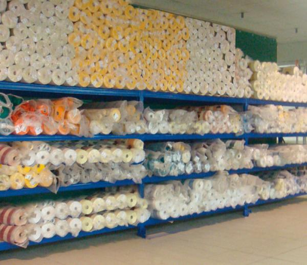 Magazzino tessuti / Fabrics warehouse
