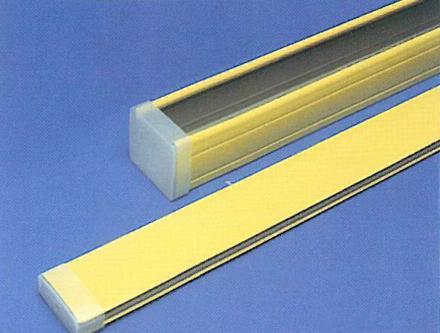 Cassonetto e spiaggiale 50 mm in acciaio zincato e verniciato / Head and bottom rail for 50 mm