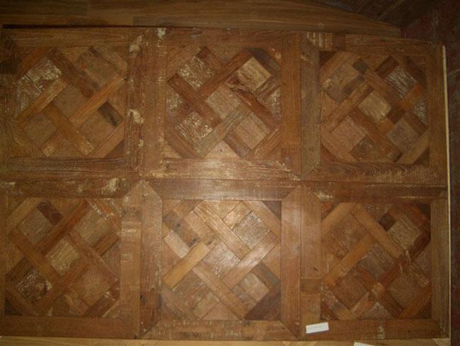 mod. Versailles - prima patina in teak birmano