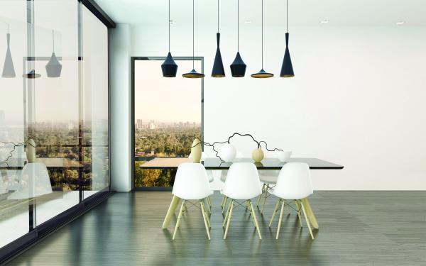 TOMEI - Sofisticato pannello in vetro scorrevole, soluzione ideale per la chiusura a vetri di qualsiasi ambiente. E' dotato di supporto inferiore che facilita lo scorrimento del vetro.