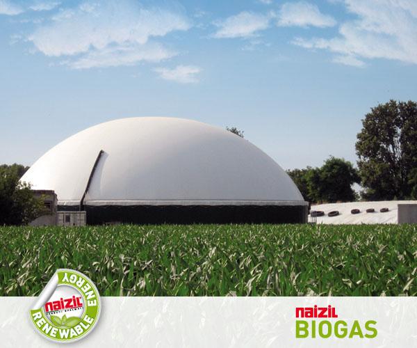 BIOGAS - Tessuti per accumulatori di biogas / BIOGAS - Membrane for gas storage