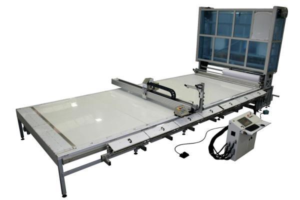 SM-300-TA Plotter da taglio multi utensile: lame - laser - ultrasuono - marcatore /  SM-300-TA Cutting plotter full cut range: blade ? laser ? ultrasonic - marker