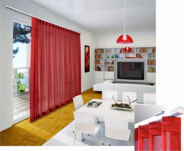 AREA - sistema di design per tende arricciate ad uso principalmente domestico / AREA - draped curtain system mainly for domestic use