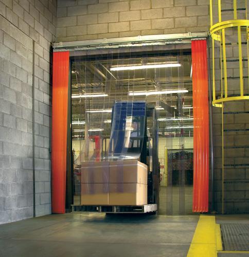 La Porta a Strisce (o tenda a strisce flessibili) è il sistema più comodo ed economico per la protezione di merci e persone che stazionano all'interno dei vostri magazzini.