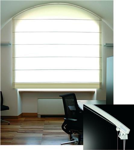 BASIC 427 - sistema per tende a pacchetto ad uso domestico con azionamento a corda / BASIC 427 - cord operated soft-shade curtain system for domestic use