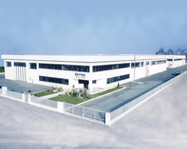 La sede produttiva del Gruppo Genius a Sorbolo, Parma