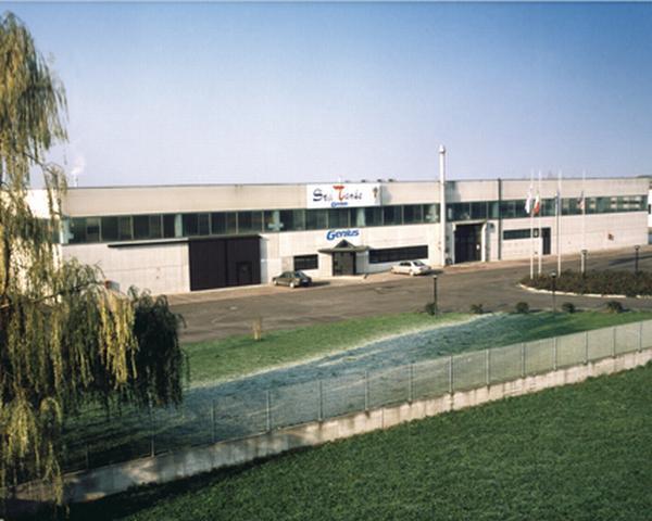 La sede produttiva del Gruppo Genius a Bondeno, Ferrara