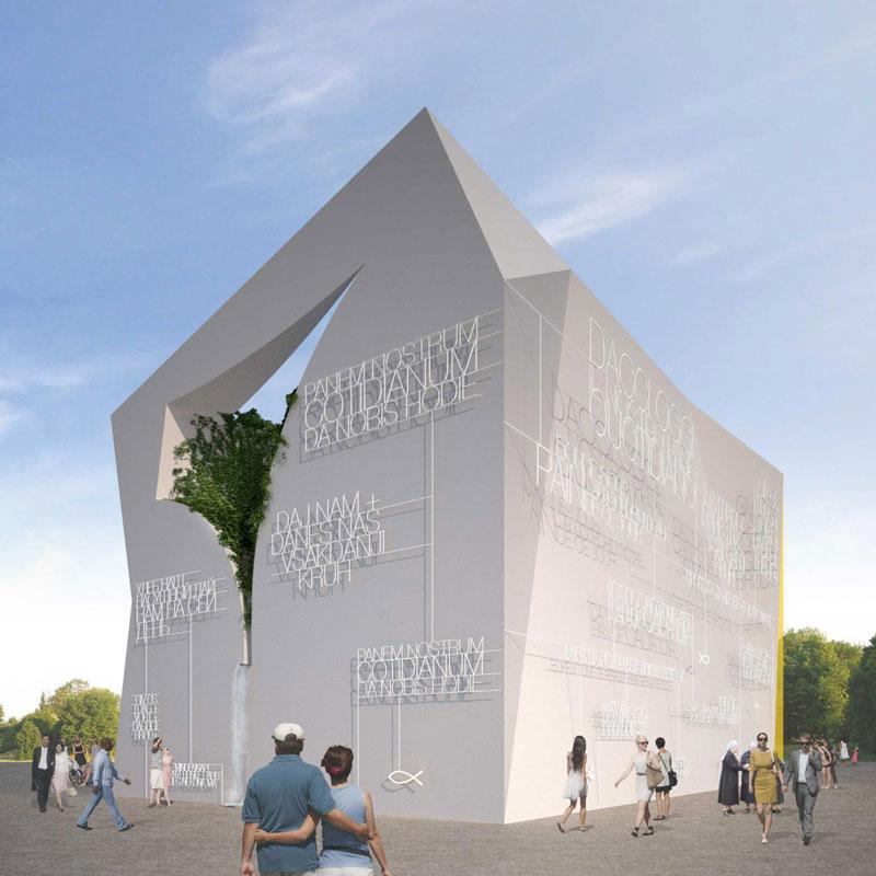 Padiglione della Santa Sede EXPO 2015, concept