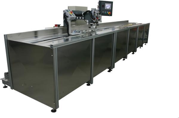 SM-210-SA Impianto automatico per la saldatura e l'incollaggio di tessuti / SM-210-SA Automatic bonding and gluing system for textiles