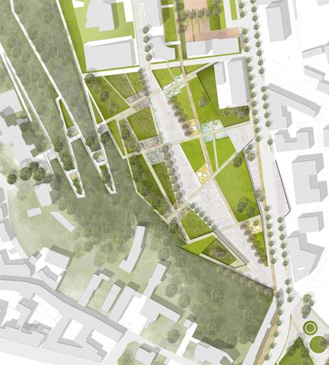 Riqualificazione urbana e territoriale il progetto area for Progetti di townhouse e planimetrie