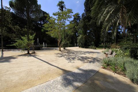 Premio iqu 2011 restauro del giardino ottocentesco di - Portale architetti roma ...
