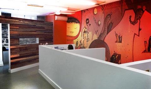 Uffici moderni in una chiesa di montreal design project for Uffici moderni