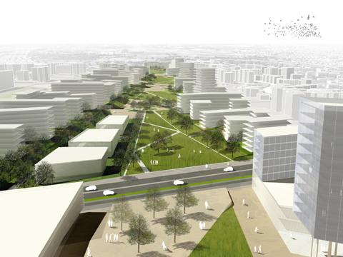 Riqualificazione e qualit urbana il progetto di labics per torre spaccata urbanistica - Portale architetti roma ...