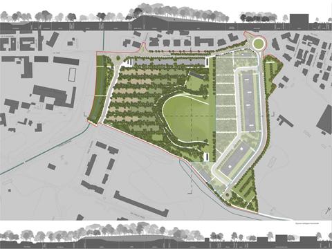 Paesaggio e verde urbano il progetto del parco centrale for Progetto verde