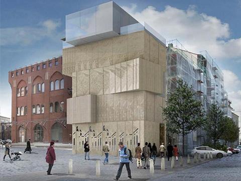 Il museo del disegno architettonico di berlino di studio for Disegno del piano di architettura