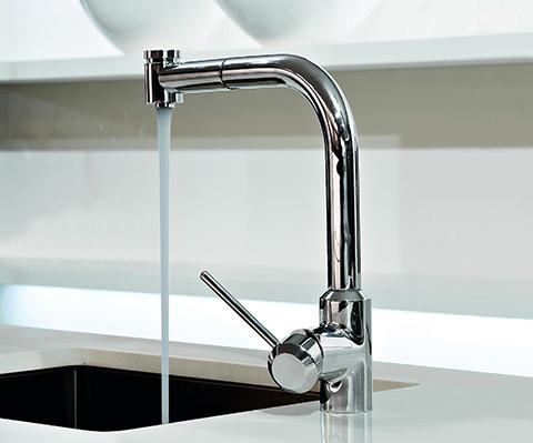 M.E. il rubinetto di Graff per una cucina funzionale e glamour