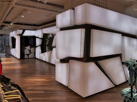 Architettura d interni high tech nuova sede di for Architettura arredamento d interni