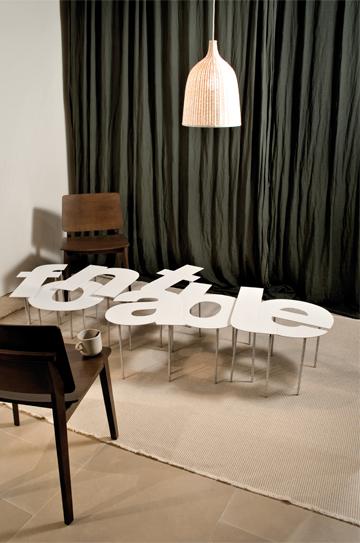 Interior design e grafica rivoluzionari complementi d for Complementi d arredo design