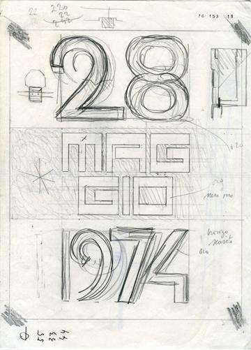 Grafica carlo scarpa e la forma delle parole al maxxi - Portale architetti roma ...