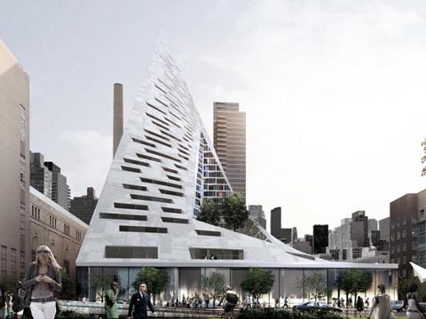 Architettura verticale west 57 la proposta dello studio for New york architettura