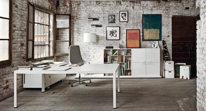 Design minimalista per l arredo ufficio architetti for Arredamento ufficio design