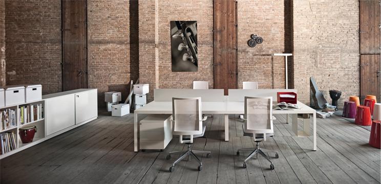 Design minimalista per l arredo ufficio architetti for Oggettistica per ufficio design