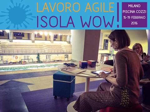 Isola wow lavoro agile 2016 tra gli sponsor dell evento for Piscina cozzi milano