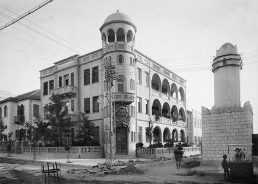 Tel aviv nel 1925 in uno scatto fotografico di avraham soskin immagine 1 - Portale architetti roma ...