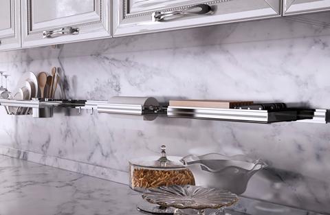 Wing di lemi la cucina preziosa in oro argento e - Cucina con swarovski ...