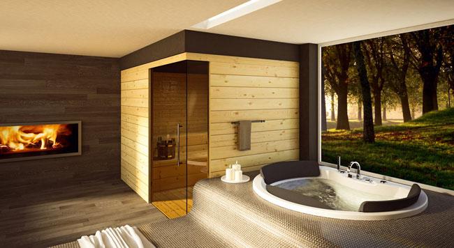 Vasche da bagno le proposte blubleu della collezione xxline cantieri e materiali - Vasche da bagno a incasso ...