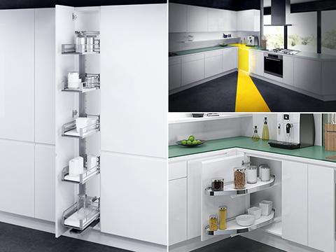 Vauth-Sagel: grandi soluzioni per i piccoli spazi della cucina ...