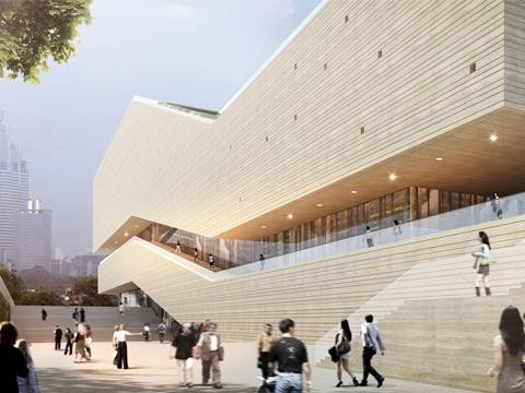 Progettazione urbana, il Guangzhou City Museum di gmp