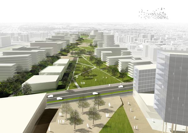 Premio iqu 8 masterplan per la centralit urbana di - Portale architetti roma ...