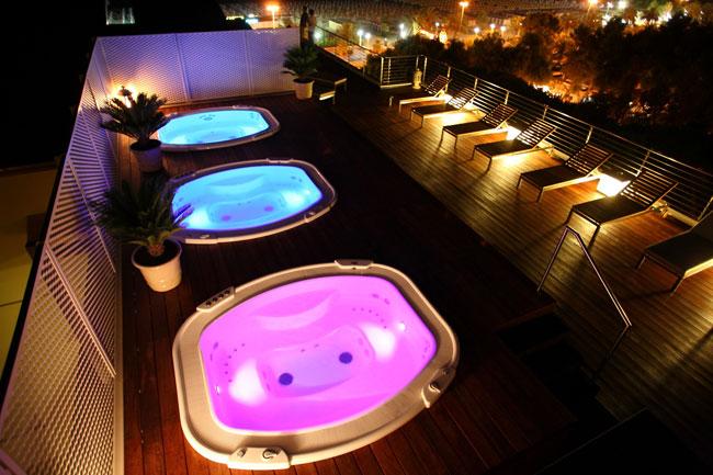 Vasche idromassaggio da esterno, le minipiscine SPA Castiglione Relax - Imprese Edili