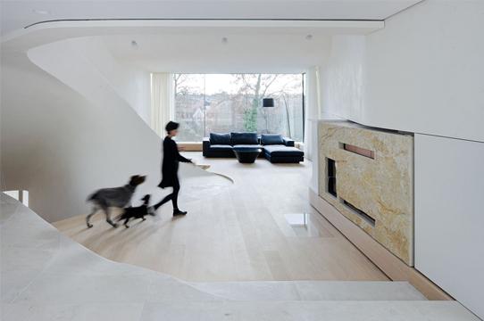 architettura e paesaggio la haus am weinberg di unstudio architettura. Black Bedroom Furniture Sets. Home Design Ideas