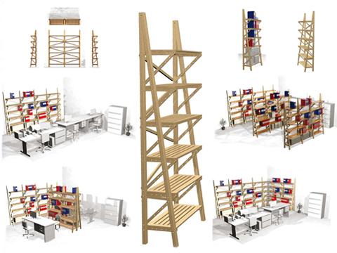 Design in mostra 100 progetti per arredare l ufficio for Progetti design interni