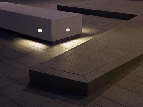 Illuminazione led goccia presenta quantum. lampade a incasso con