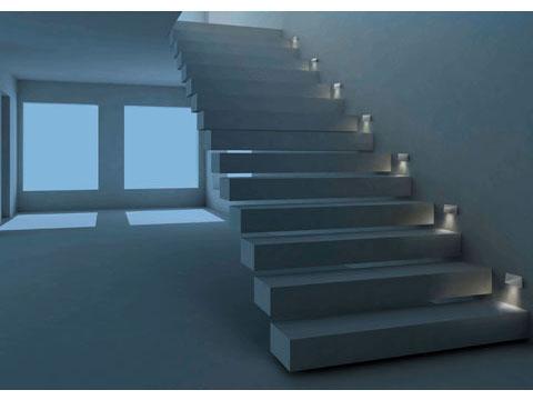 Led sidesign e la nuova collezione di lampade a euroluce for Segnapasso led per scale interne