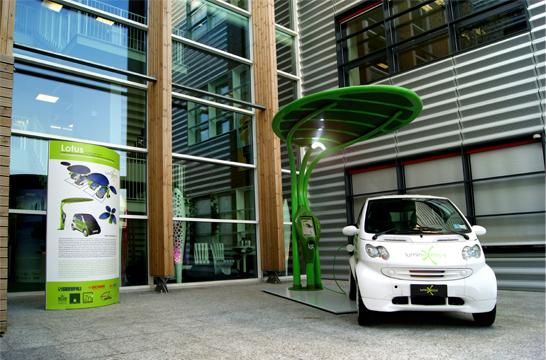 Eco design e arredo urbano il prototipo del sistema lotus for Aziende arredo urbano
