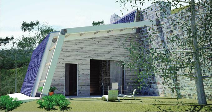 Architettura ecocompatibile e paesaggio al via la mostra for Eco architettura