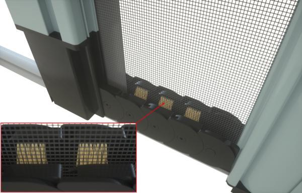 Zanzariera Con Pannello Solare : Ermetika la nuova zanzariera avvolgibile a scorrimento