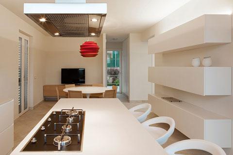 Interior design studi vo disegna le sale cucina e pranzo di una casa sulle colline toscane - Zona pranzo design ...