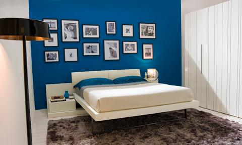 Camere e camerette letti a scomparsa open space di clei - Mobile letto richiudibile ...